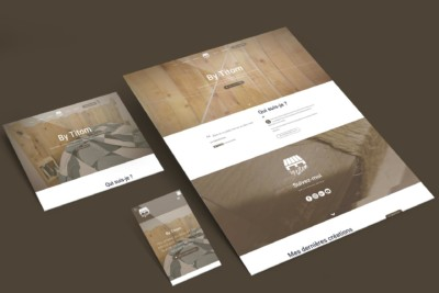 Mockup site web by titom